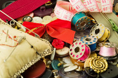 Free Sewing Items Royalty Free Stock Images - 4266309