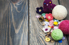 Sewing Items Royalty Free Stock Photos