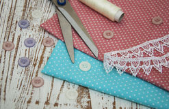 Sewing Items Royalty Free Stock Photography
