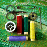 Sewing Items Concept Stock Image