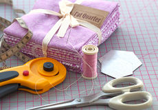 Sewing items. Stock Photo