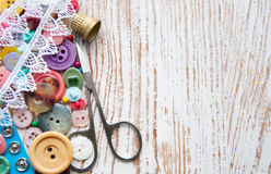 Sewing Items Stock Photography