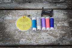 Sewing items Royalty Free Stock Image