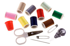 Free Sewing Kit Royalty Free Stock Image - 10751426