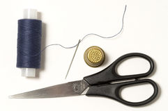 Sewing kit Royalty Free Stock Images
