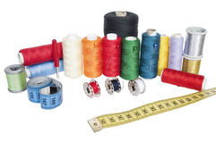 Sewing kit Stock Image