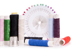 Sewing Kit Royalty Free Stock Photos