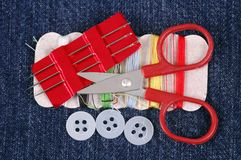 Sewing Kit. Stock Photography