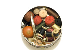 Sewing kit Stock Photos
