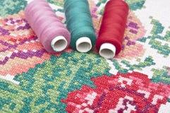 Sewing kit. stock image