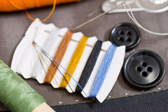 Sewing kit Royalty Free Stock Photos