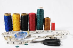 Sewing Kit Royalty Free Stock Image