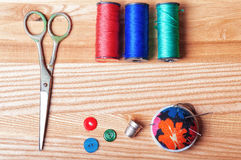 Sewing Kit Royalty Free Stock Photo