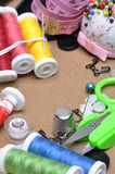 Sewing kit tailor's tools Stock Images