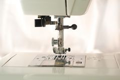Sewing Machine. Close up of a new sewing machine Stock Images