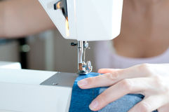 Sewing machine. Royalty Free Stock Photo