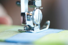 Sewing machine. Royalty Free Stock Images
