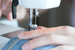 Sewing machine. Stock Image
