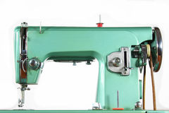 Sewing Machine. Isolated on a white Background Royalty Free Stock Photography