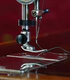 Sewing machine. Royalty Free Stock Photos