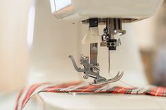 Sewing machine. Royalty Free Stock Image