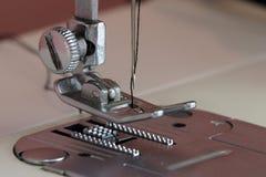 Sewing Machine. Close up sewing machine stock photo