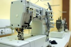 Sewing machine Stock Photo