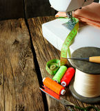 Sewing. Royalty Free Stock Photography