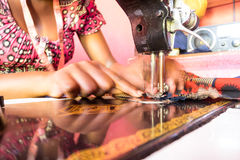 Free Sewing Machine And Tailor Royalty Free Stock Image - 86312986