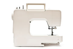 Sewing machine. Back side Royalty Free Stock Image