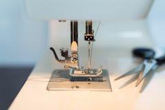 Sewing machine close Stock Photo