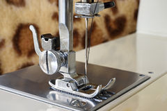 Sewing Machine Close Up Royalty Free Stock Photos
