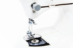 Sewing machine ( close up shallow depth of field) Royalty Free Stock Photo