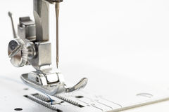 Sewing machine closeup Stock Images