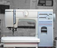 Sewing machine for craft Stock Photo