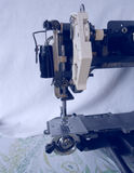 Sewing. Machine crafts conceptual image Royalty Free Stock Photography