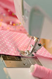 Sewing Machine Detail Royalty Free Stock Photo