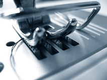 Sewing machine detail Stock Images