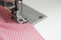 Sewing Machine Detail Stock Photo