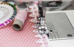 Sewing Machine Detail Royalty Free Stock Photos