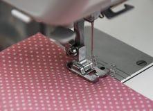Sewing Machine Detail Stock Image