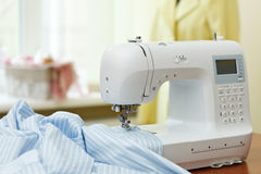 Sewing machine. Dummy and other sewing equipment Stock Images