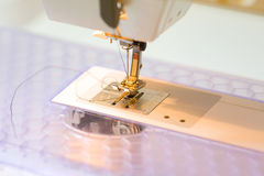 Sewing Machine Foot Stock Image