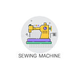 Sewing Machine Household Devices Icon Stock Image