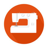 Sewing machine icon Stock Photography