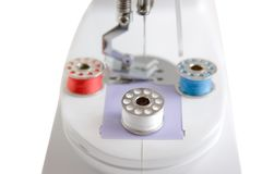 Sewing machine. isolated Royalty Free Stock Photo