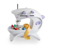 Sewing machine. isolated Stock Photography