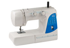 Sewing machine isolated Stock Photography