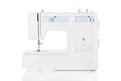 Sewing machine isolated on white background Stock Photo
