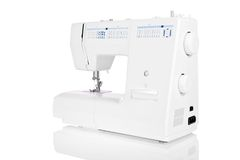 Sewing machine isolated on white background Royalty Free Stock Photography